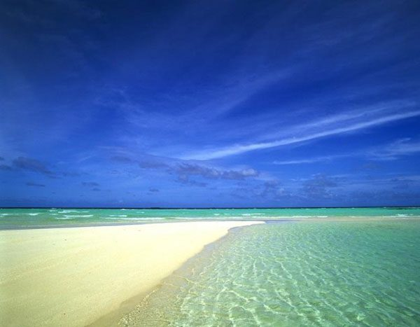 Picture of a sunny beach